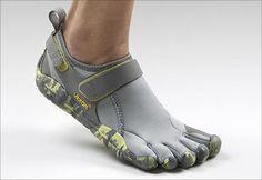 LOVE, love, love my toe running sneakers. Try them if you dislike socks!
