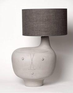 Large Ceramic Base Lamp, Unique Piece by Dalo 2 Floating Picture Frames, Picture Frame Sizes, Ceramic Pottery, Pottery Art, Ceramic Art, Wallpaper Off White, Modern Rustic Furniture, Light Em Up, Ceramic Light