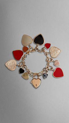 Heart Charm Bracelet   Burberry