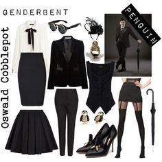 Genderbent Penguin Oswald Cobblepot