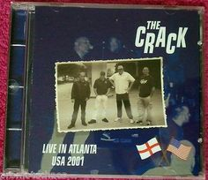 THE CRACK LIVE IN ATLANTA USA 2001 Cargo Records RARE OOP New IMPORT punk oi! UK Cock Sparrer