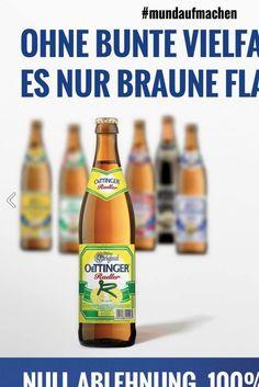 Die Oettinger-Brauerei hat eine geniale Antwort auf den Fremdenhass in der Flüchtlingsdebatte