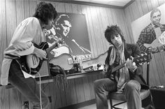 Ron Wood and Keith Richards, 1978