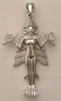 must have Sumerian Goddess Lilith pendant Ancient Goddesses, Gods And Goddesses, Ancient Aliens, Ancient Art, Wicca, Magick, Female Demons, Ancient Near East, Ancient Mesopotamia