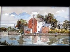 Live online watercolour demonstration by Tim Wilmot Feb 12 2015 - YouTube