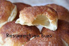 An Easter Treat-Resurrection Buns