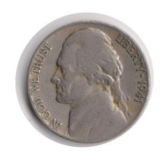 USA 5 Cents (Nickel) 1941 Coin (Code:JMC1996) by COINSnCARDS on Etsy