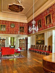 Great Hall. Dyrham Park near Bath, Gloucestershire - late 17th century