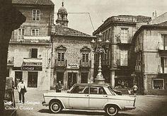 Vigo, La Antigua Ciudad Olívica Plaza de la Constitución en los 70.