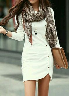 OutFit Ideas - Women look, Fashion and Style Ideas and Inspiration, Dress and Skirt Look Look Fashion, Autumn Fashion, Womens Fashion, Fashion Trends, Latest Fashion, Dress Fashion, Cheap Fashion, Fashion Clothes, Fashion Online