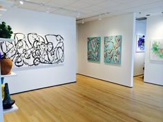 women in abstract — hidell brooks gallery