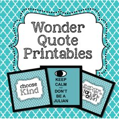 Diary of a 21st Century Teacher: Quick Way to Make Your Classroom Cute -- Download Quote Printables!