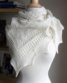 Ravelry: Mirabelle Texture Sampler Shawl pattern by Zehava Jacobs