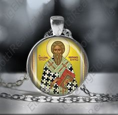 St. Paul the Latter  Orthodox Necklace Medal Pendant by ElDotti