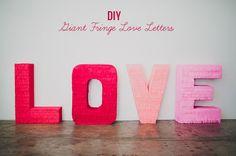 Giant LOVE Letter
