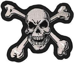 Lethal Threat Skull N Bones Mini Patch,biker jacket patch Motorcycle Patches, Biker Patches, Kawasaki Motorcycles For Sale, Leather Jacket Patches, Biker Accessories, Patches For Sale, Lady Biker, Vinyl Cutter, Skull And Crossbones