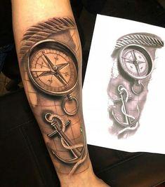 # - Land of Tattoos Forearm Tattoo Design, Forearm Tattoos, Body Art Tattoos, Tatoos, Inner Bicep Tattoo, Arm Band Tattoo, Tattoo Sleeve Designs, Tattoo Designs Men, Nautical Tattoo Sleeve
