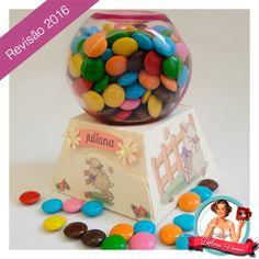 FREE DIY 3D cut files studio PDF trapezoid box that takes jar of sweets gum ball dispenser