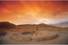 Caral, Peru. Ancient civilization in the Americas. The ruins date back over 5,000 years, which means there were cities and life in Peru around the same time as Mesopotamia and Ancient Egypt.