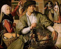 Pieter Aertsen: Market scene, 1560/1565