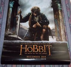 """THE HOBBIT The Battle Of The Five Armies Original 2 Sided Movie Poster 27"""" X 40"""""""