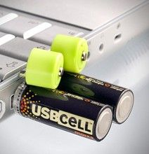 Usb rechargeable batteries mobile solution