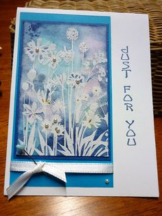 HLS January Watercolour Challenge ~ Happy Little Stampers Watercolour Challenge, Happy New Year Everyone, Watercolor Pencils, Finding Peace, Distress Ink, Colour Images, Flower Cards, Wonderful Time, I Card