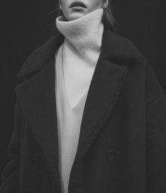 cozy turtleneck & oversized coat #style #fashion #winter
