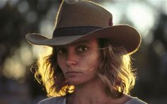 Robyn Davidson photographed by her occasional visitor Rick Smolan.