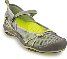 Comfort and style for life's adventures! From J-41, the Misty Mary Jane sneakers offer an eye-catching mesh design with memory foam insoles, which provide maximum comfort and all day support. The All Terra outsole is non-marking and provides superior traction and long-lasting wear. Reflective taping ensures you'll be seen wherever the Misty sneakers take you while the adjustable Velcro strap offers a personalized fit!