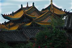 temple roof china | Flickr - Photo Sharing!