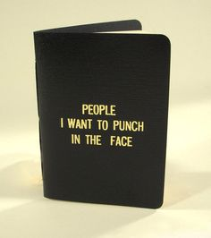 Rude Little Black Book, $10, available at Etsy.com