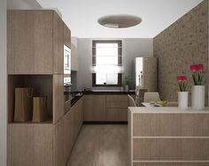 idei living apartament - Căutare Google Living, Kitchen Ideas, Divider, Google, Room, Furniture, Home Decor, Houses, Bedroom