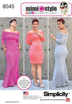 COMING SOON! MY SIMPLICITY PRE-SPRING PATTERNS - Mimi G Style