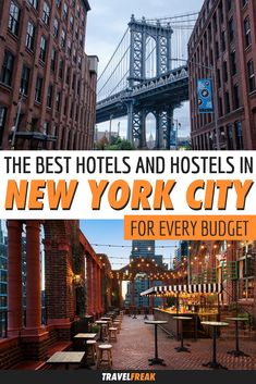 Where to Stay in New York City: The 12 Best Hotels and Hostels for Every Budget Unique Hotels, Best Hotels, New York Trip Planning, Travel Guides, Travel Tips, Budget Travel, Hotels For Kids, Yorky, New York Hotels
