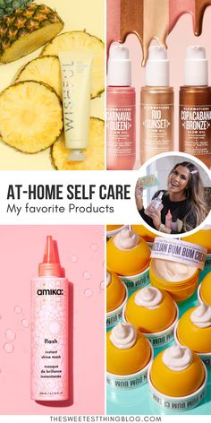 These are my favorite products from Sephora, Updated Spring 2020 for at-home self care. Emily Gemma, The Sweetest Thing Blog #Sephora #SelfCare