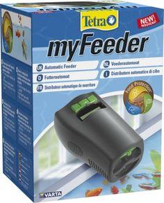 Автокормушка Tetra myFeeder для аквариумов, черный Изображение 3 - купить в интернет магазине с доставкой, цены, описание, характеристики, отзывы
