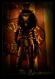 The Ringmaster by ~ costume by Meaghan-Monster on deviantART photo by razorbladegrin photography