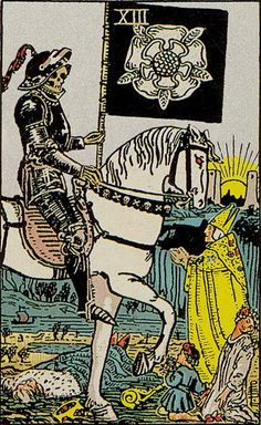XIII. Death - Rider-Waite Tarot by A. E. Waite, Pamela Colman-Smith