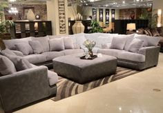 The Barkley Collection by Jackson Furniture will add style and comfort to any family room environment. This group features shark fin arm design with wooden accent legs and generous toss pillows. The pieces are upholstered in super soft luxurious textured. Living Room Sectional, Living Room Furniture, Home Furniture, Living Room Decor, Sectional Sofas, Rustic Furniture, Antique Furniture, Modern Furniture, Furniture Stores
