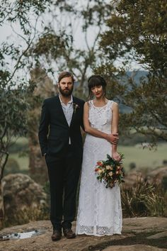 This bohemian bridal shoot was inspired by the Australian bush surrounding Hanging Rock, a sacred and holy place in Australia's history. Bridal Shoot, Stems, Bohemian, Wedding Dresses, Inspiration, Fashion, Drift Wood, Bride Dresses, Biblical Inspiration
