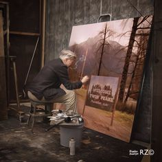 David Lynch ~ completing his Masterpiece