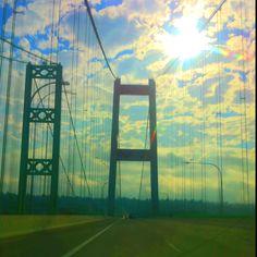 Narrows bridge-Gig Harbor to Tacoma