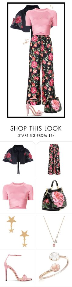 """""""Pink #2"""" by patcamppos ❤ liked on Polyvore featuring Dolce&Gabbana, T By Alexander Wang, Amarilo, Meira T, Gucci and Pasquale Bruni"""