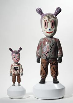 Lladró introduced their latest creative projects at the 2013 International Contemporary Furniture Fair (ICFF) in New York. Included: The Guest figurines by American artist, Gary Baseman.