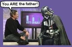 you ARE the father!