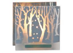 Lysholder skog HVIT | 10x10