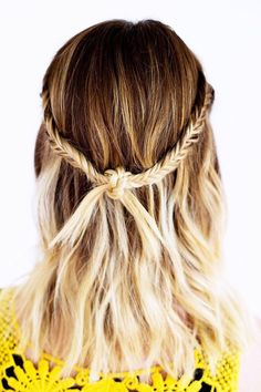 Knotted fishtail