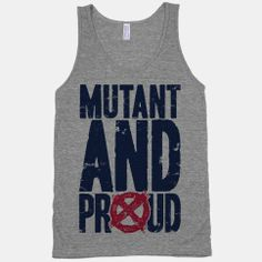 Mutant And Proud X men shirt