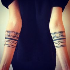 coolTop Geometric Tattoo - 30 Significant Armband Tattoo Meaning and Designs